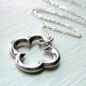Jewelry - Sterling Silver 4 Leaf Clover Necklace